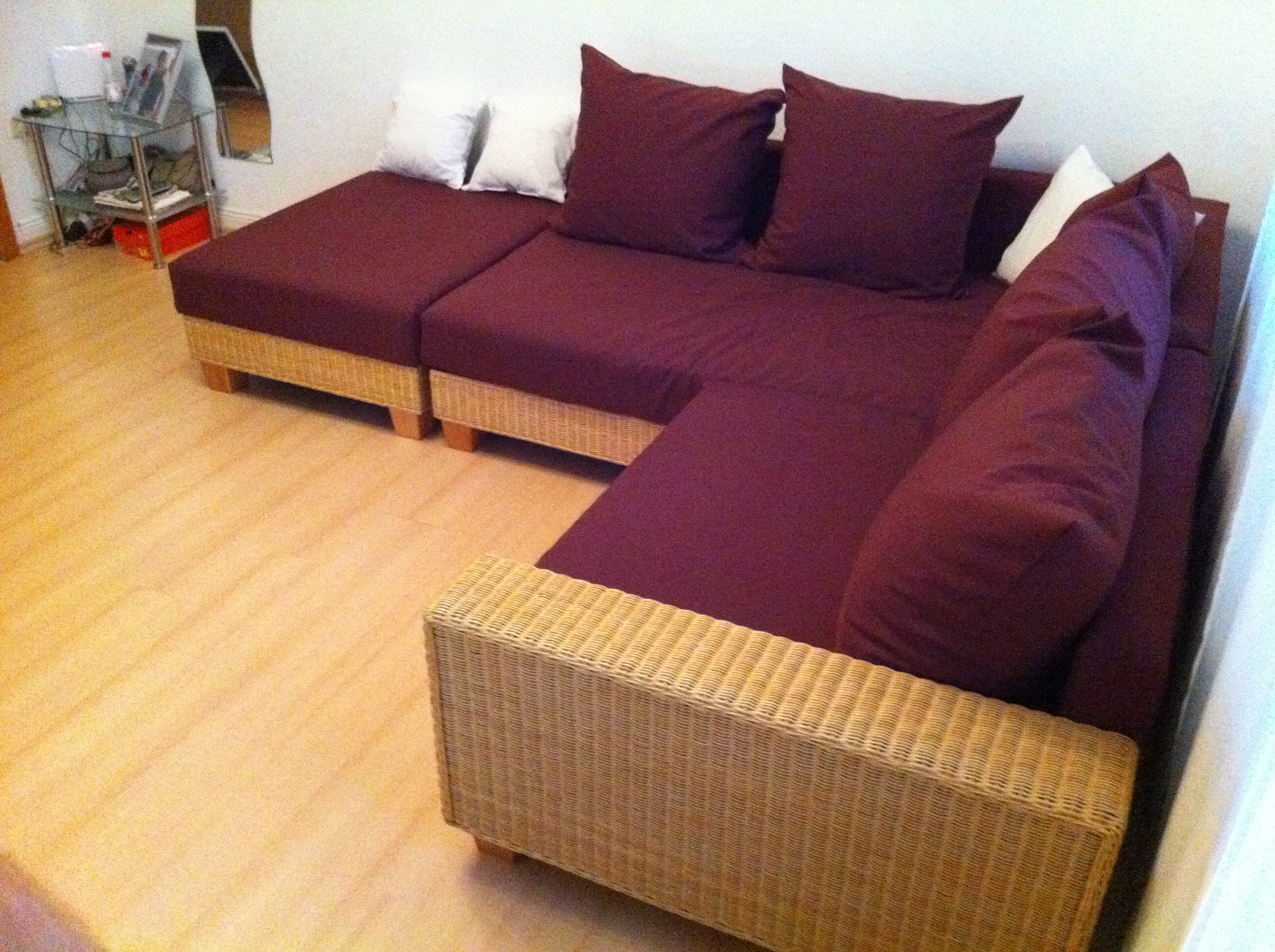 das sofa ist fertig b rbel s blog. Black Bedroom Furniture Sets. Home Design Ideas
